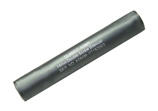 A084M-1 Double Screw Mock Suppressor 14mm Threading