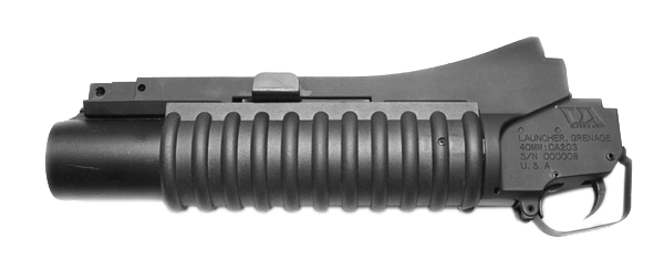 A104M M203 Grenade Launcher - Military Type Short