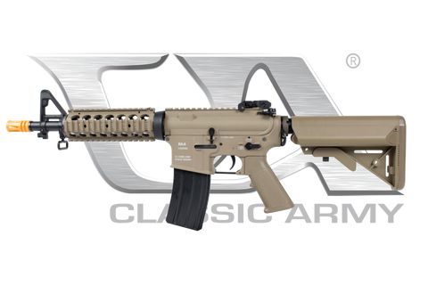 AR010M-X-DE M4 CQB RIS Full Metal AEG Dark Earth