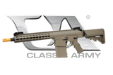 "CA104M-DE CA110 ARS2 Dark Earth 10"" Keymod Full Metal AEG"