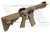 "CA082M-DE M4 ARS4 Dark Earth 10"" Keymod Full Metal AEG"