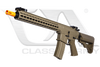 "CA083M-DE M4 ARS4 Dark Earth 13"" Keymod Full Metal AEG"