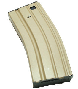 P345M M4 Metal Magazine 300rd High Capacity Tan
