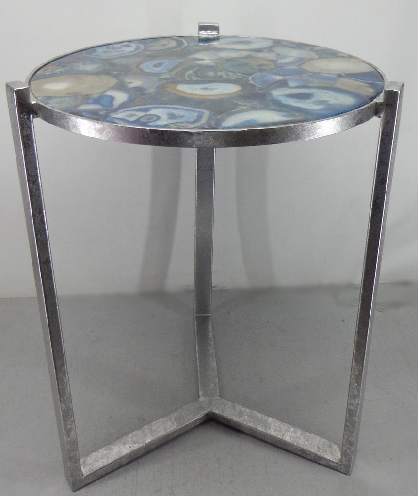 Blue Agate Table ...
