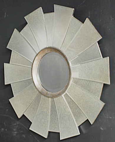 Modern Regency Sunburst Mirror