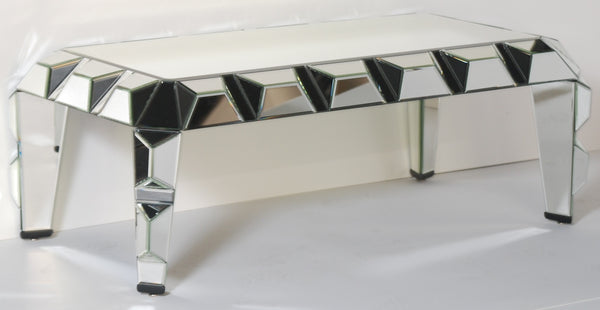 Cubism Mirrored Coffee Table