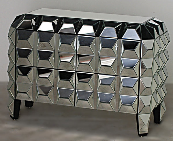 Cubism Mirrored Chest