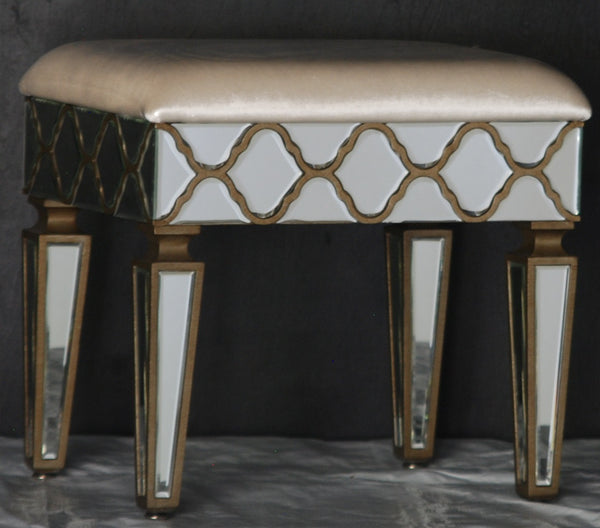 Symphony Mirrored Stool