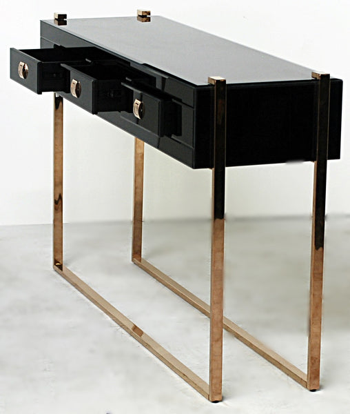 Copper Buckle Console Table