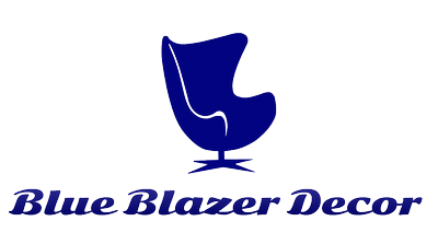 Blue Blazer Decor