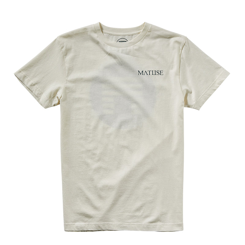 CIRCLE LOGO TEE - OFF WHITE