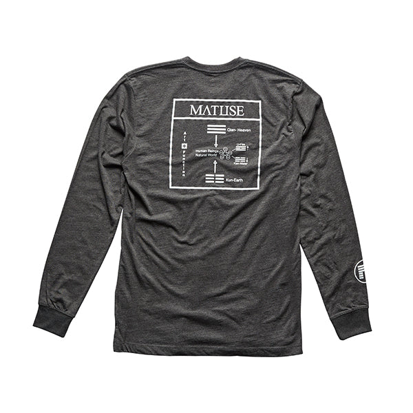 MATUSE HEAVEN & EARTH LONG SLEEVE T-SHIRT
