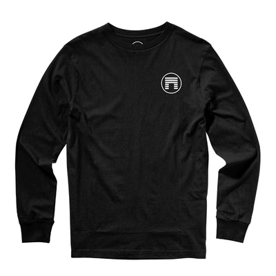 RESPECT THE FOOD CHAIN L/S - BLACK
