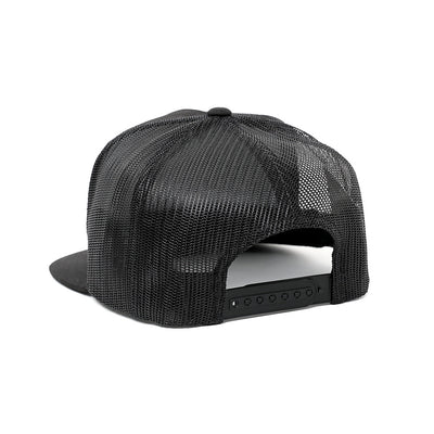 CLASSIC TRUCKER (BLACK) SNAP BACK