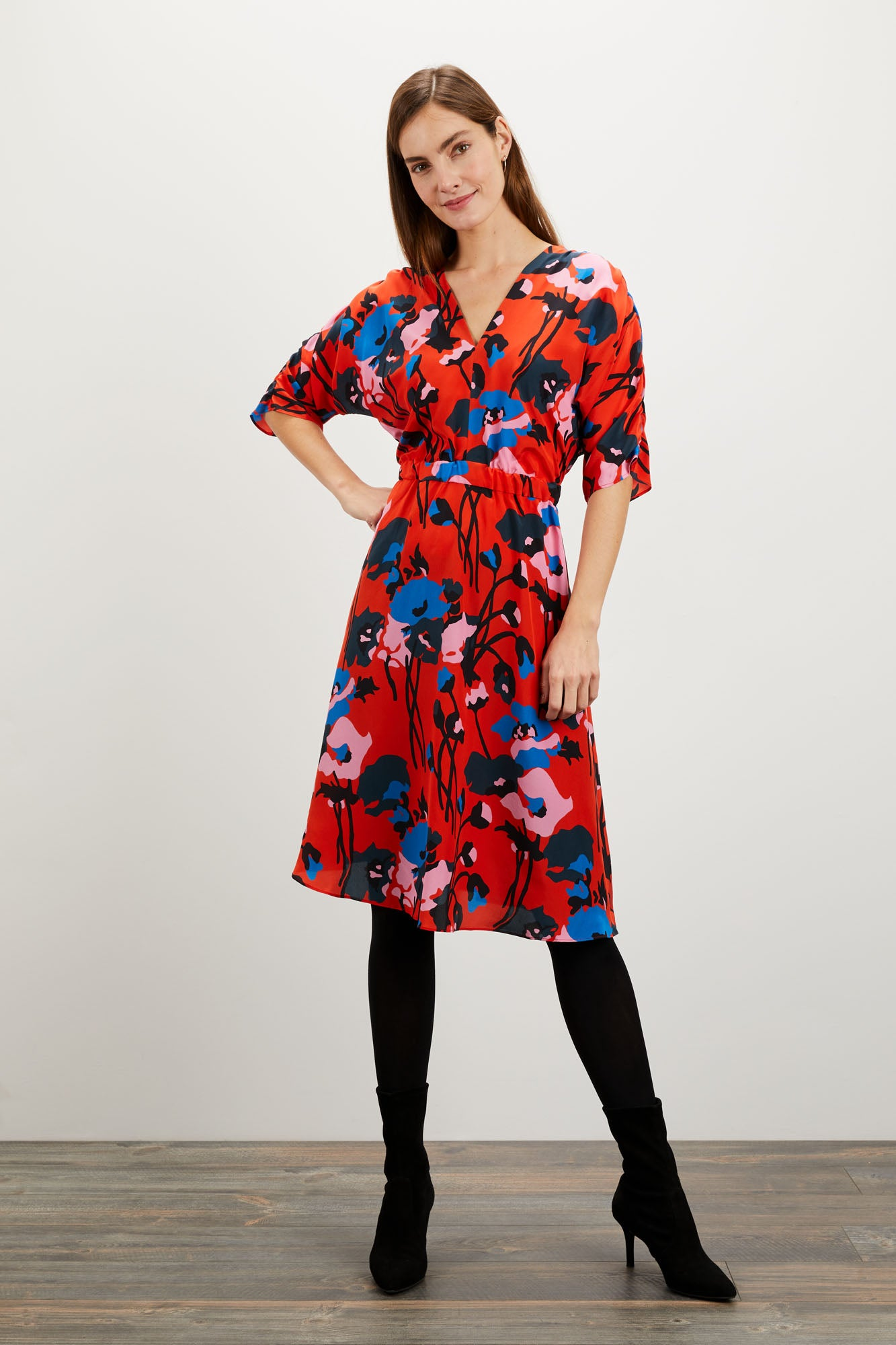 The Market Dress | Dini's Red Floral