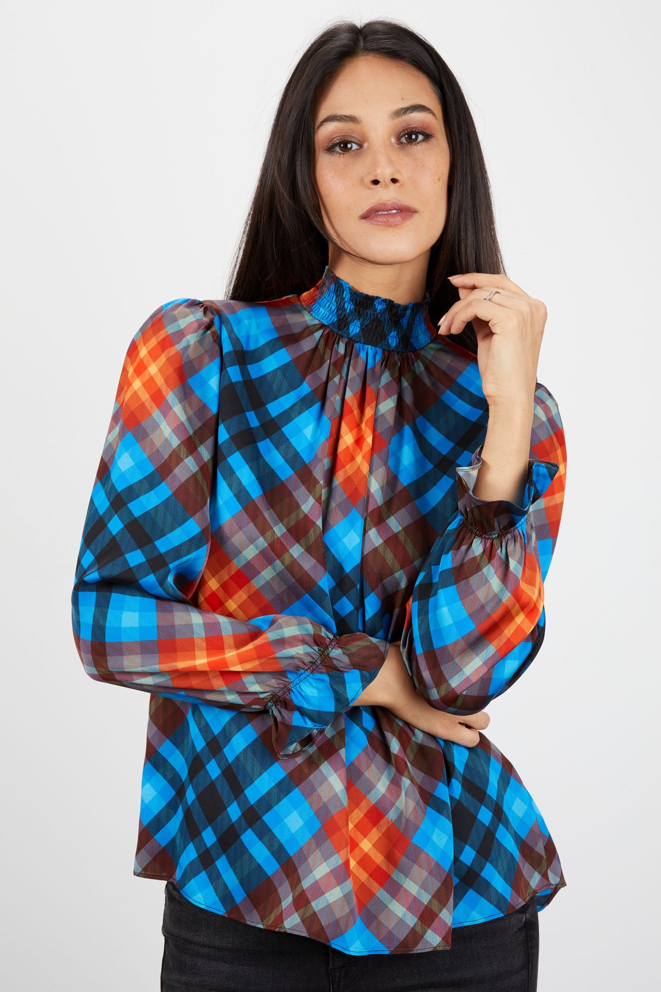 Stella Top | Yukon Cornelius Plaid