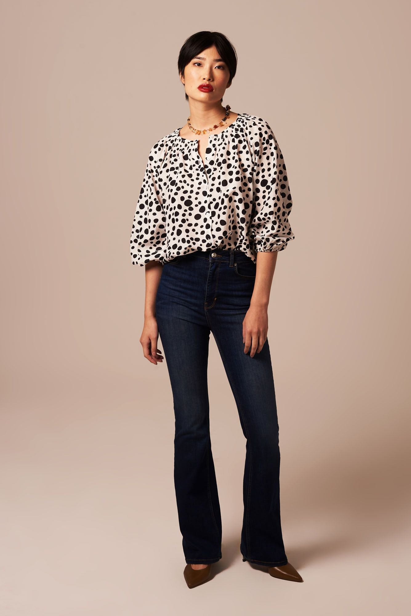 The Classic Blouse | Dalmatian