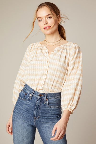 The Classic Blouse | Beach Diamonds