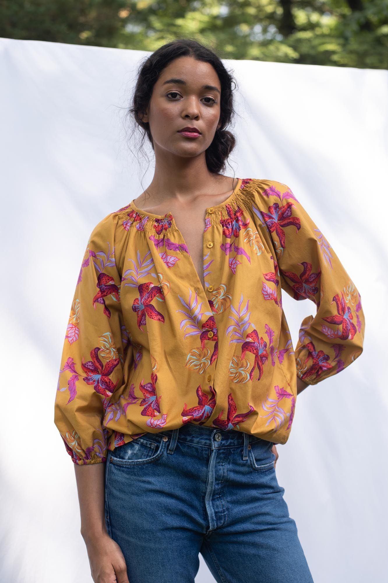 The Classic Blouse | Honey Lily