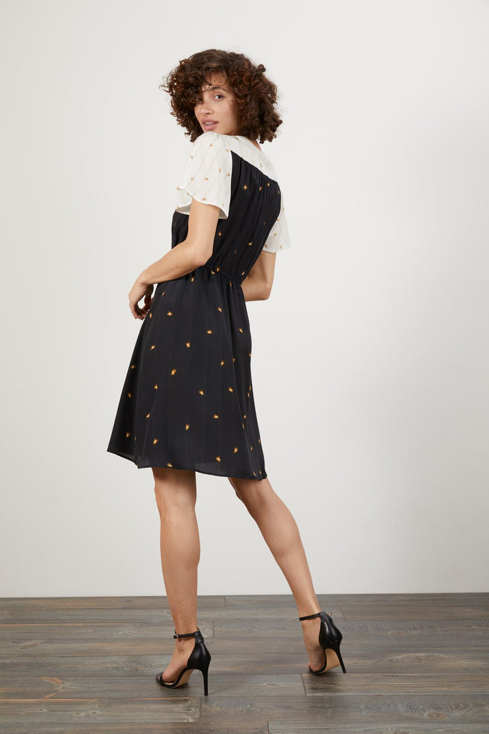 Chelsea Dress | Climbing Scarab Black