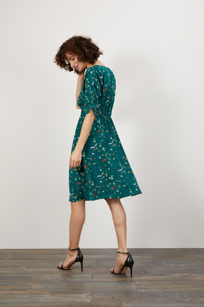 The Market Dress | Lucky Finds Emerald