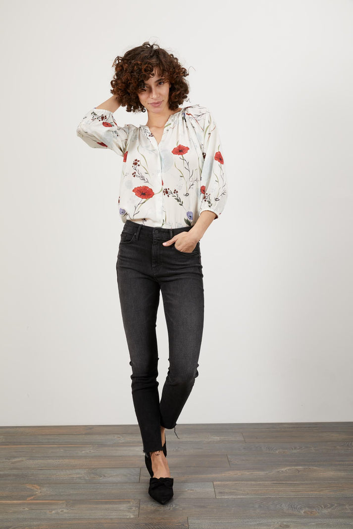 The Classic Blouse | Morning Floral