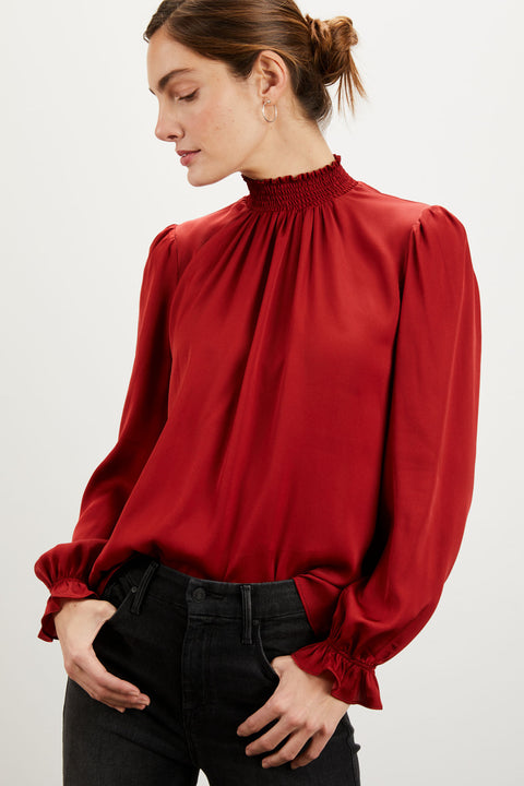 Stella Top | Crimson