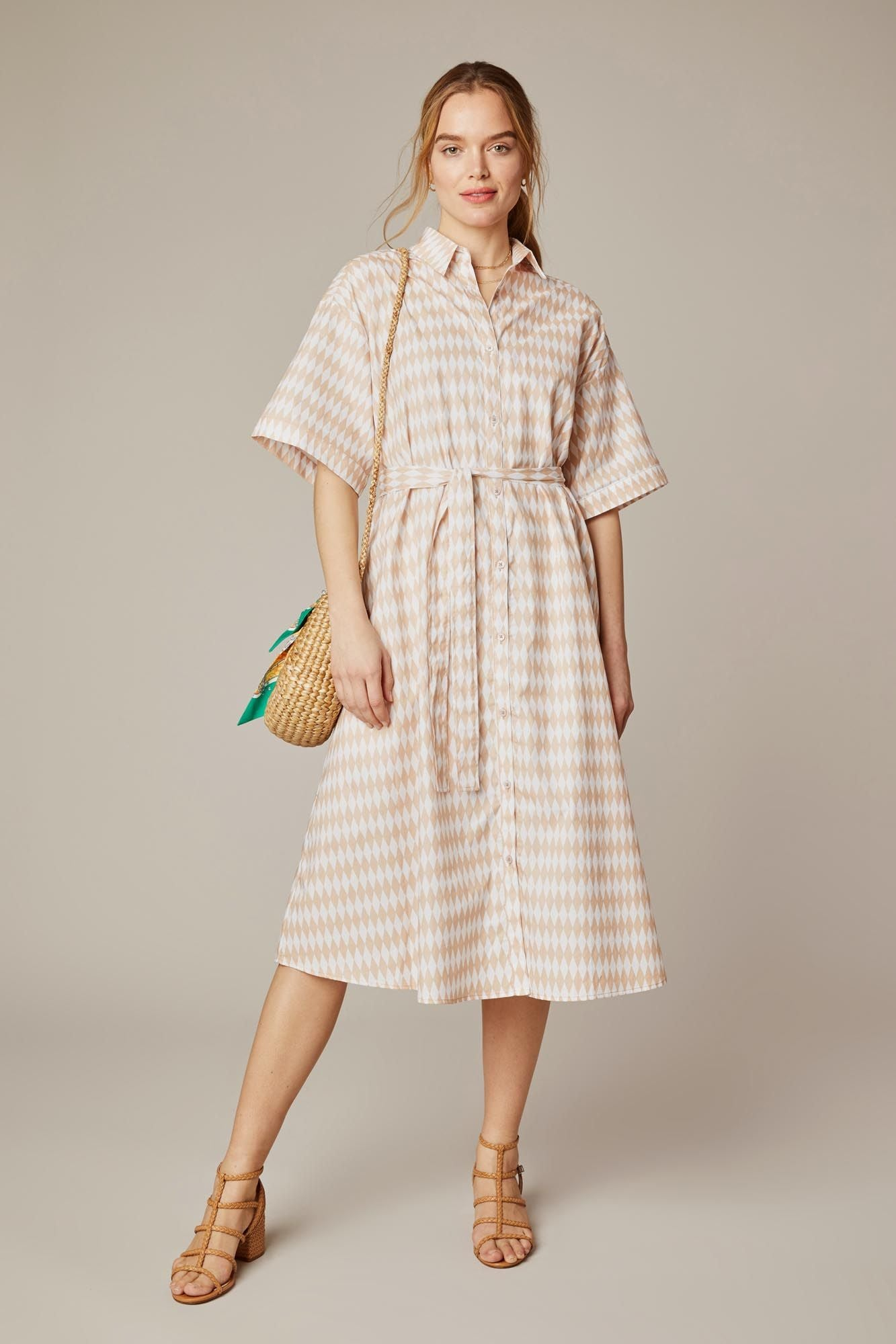 Safari Shirtdress | Beach Diamonds