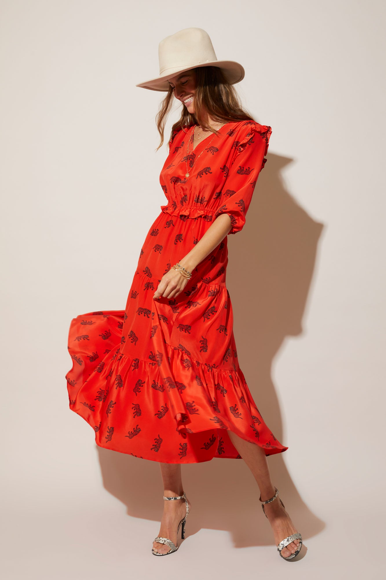 Jordan Dress | Crimson Prowler