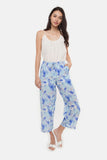 The PJ Pant With Binding | Blue Aquarius