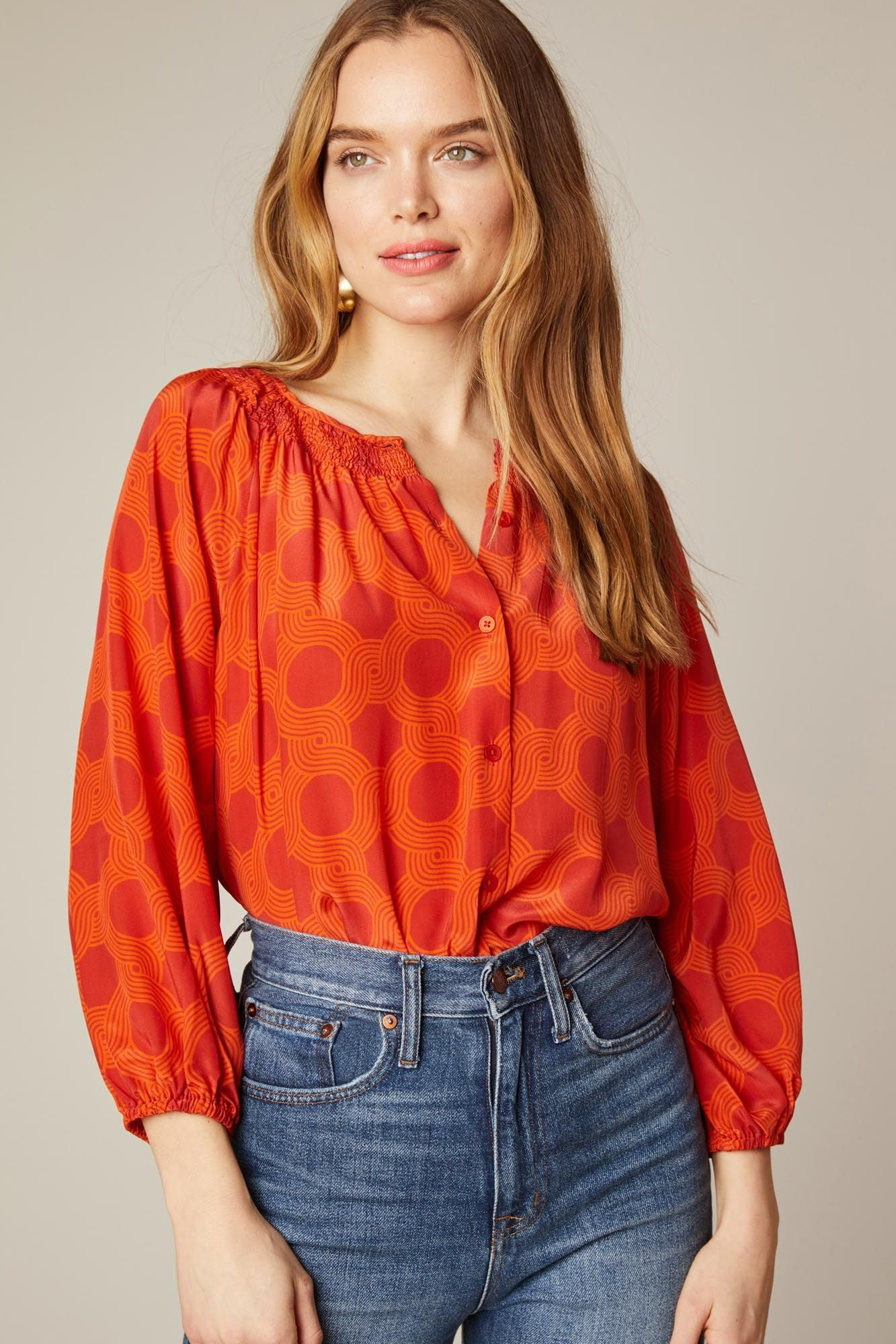 The Classic Blouse | Scarlet Maze