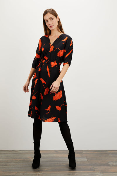 The Market Dress | Coral and Cassis