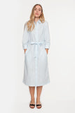The Long Shirtdress | Sailor Stripe