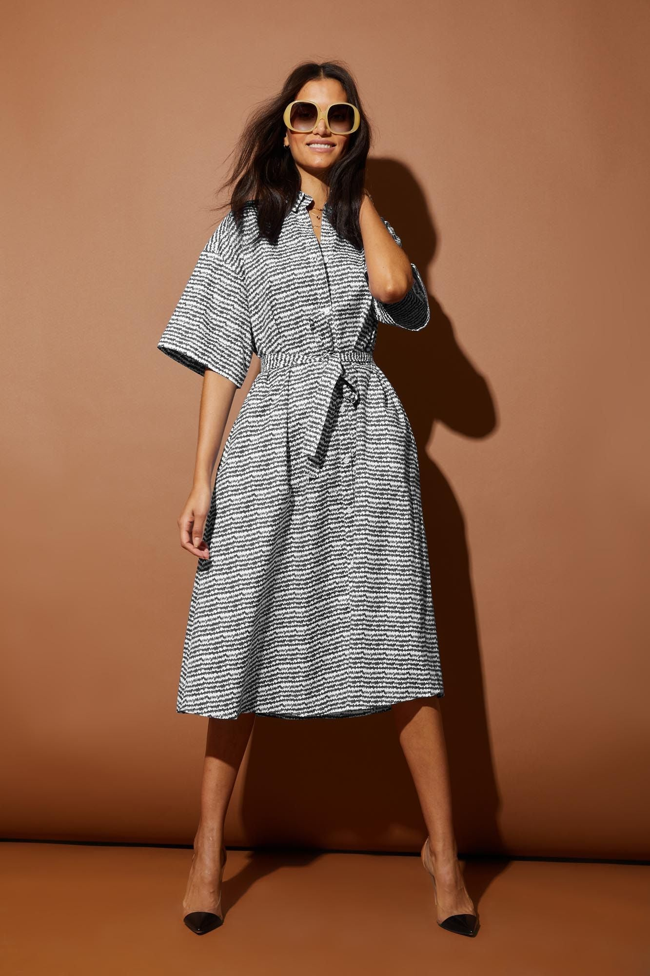 Safari Shirtdress | Slate Sound