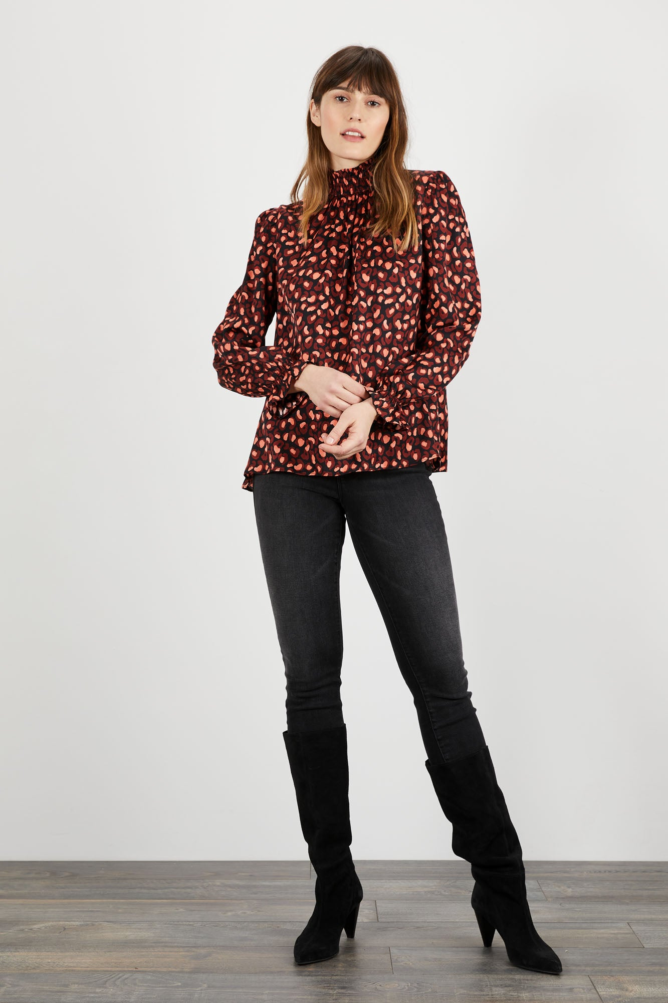 Stella Top | Posh Cheetah