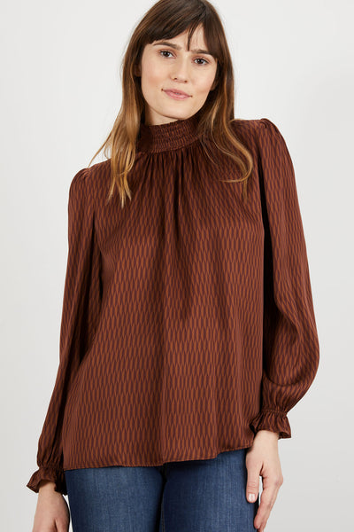 Stella Top | Caramel Coffee