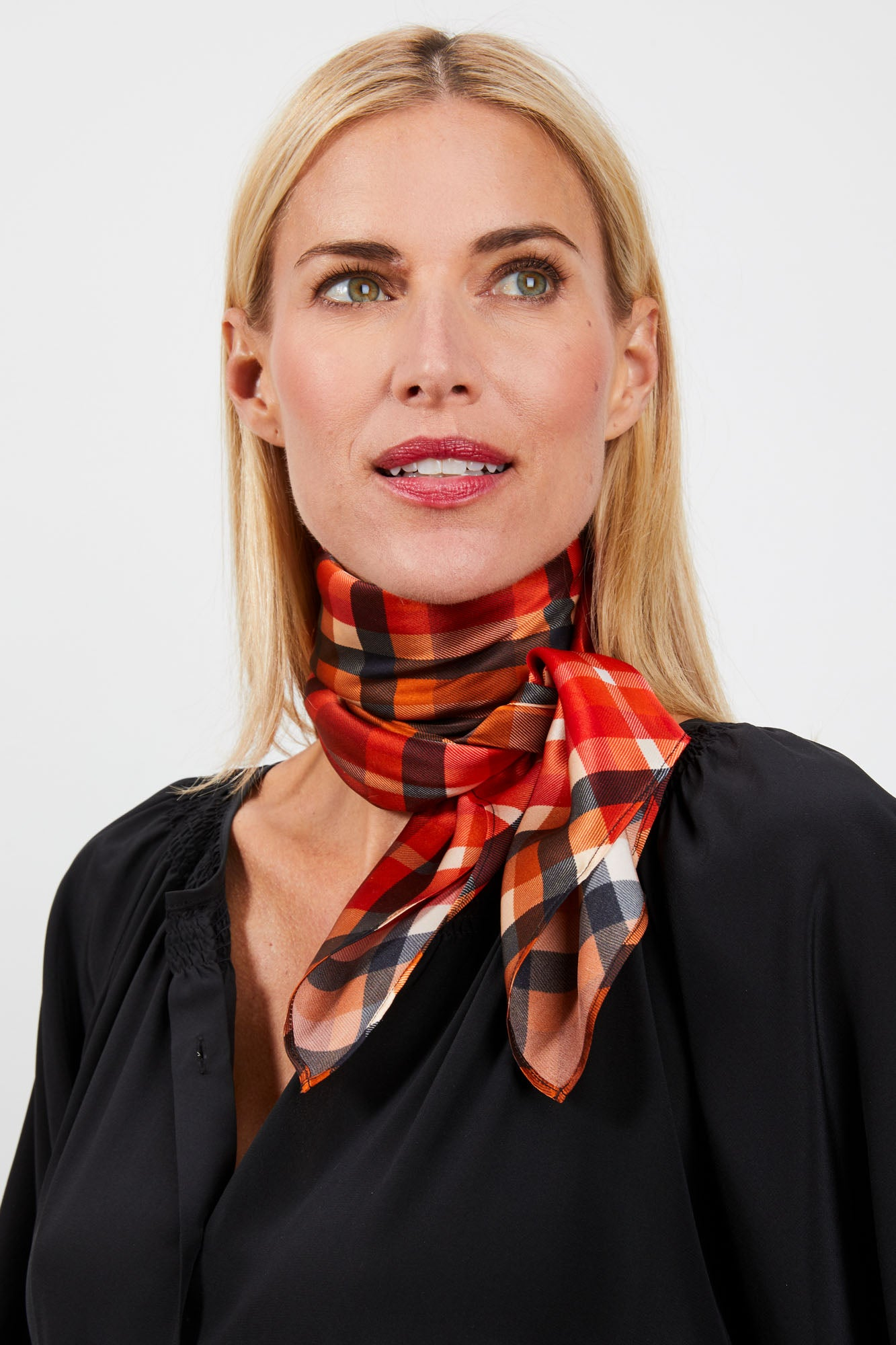 Lily Scarf | Rudolph Plaid