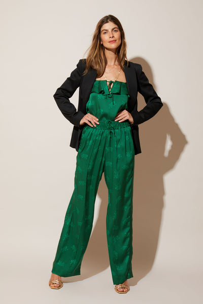 Camilla Pant | Emerald Leopards