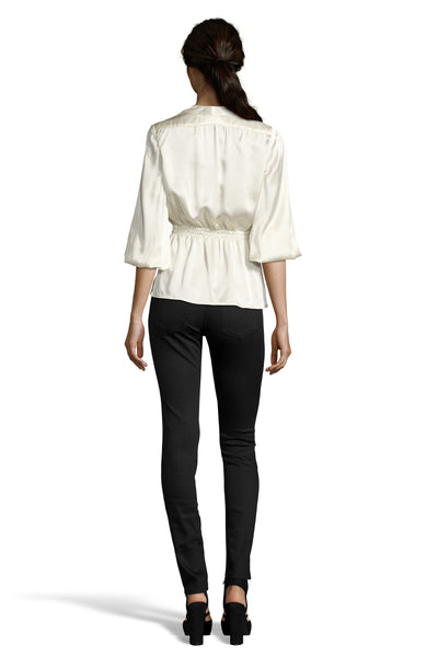 The Abigails Party Blouse | Ivory