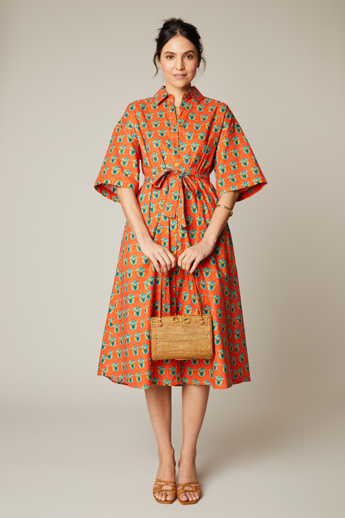 Safari Shirtdress | Amber Rosette