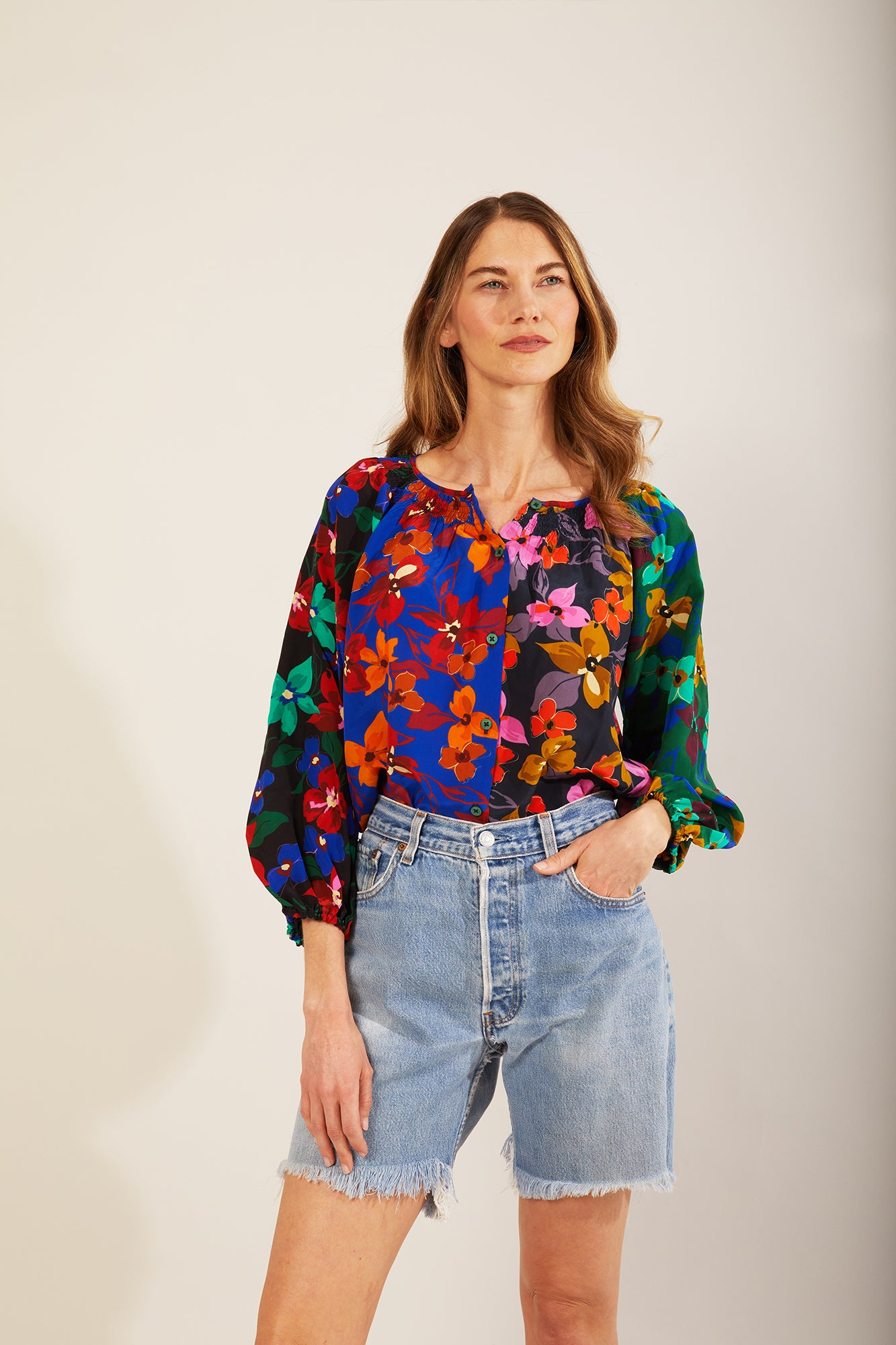 The Classic Blouse | Petals by Starlight Multi