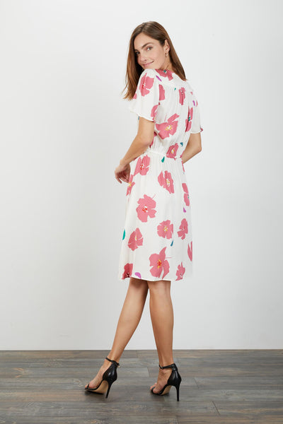 Chelsea Dress | Blush Camellia