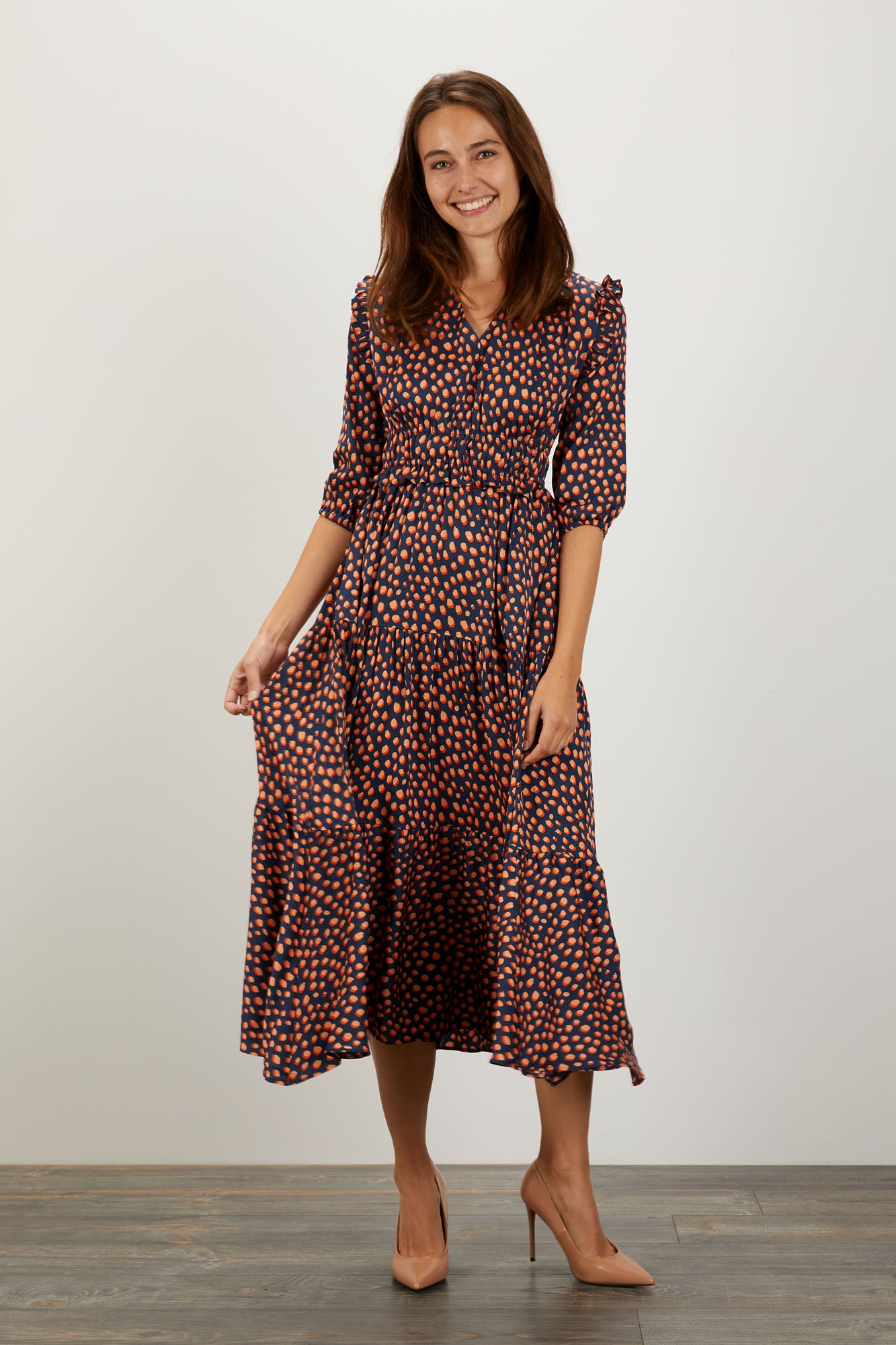 Jordan Dress | Candy Dot