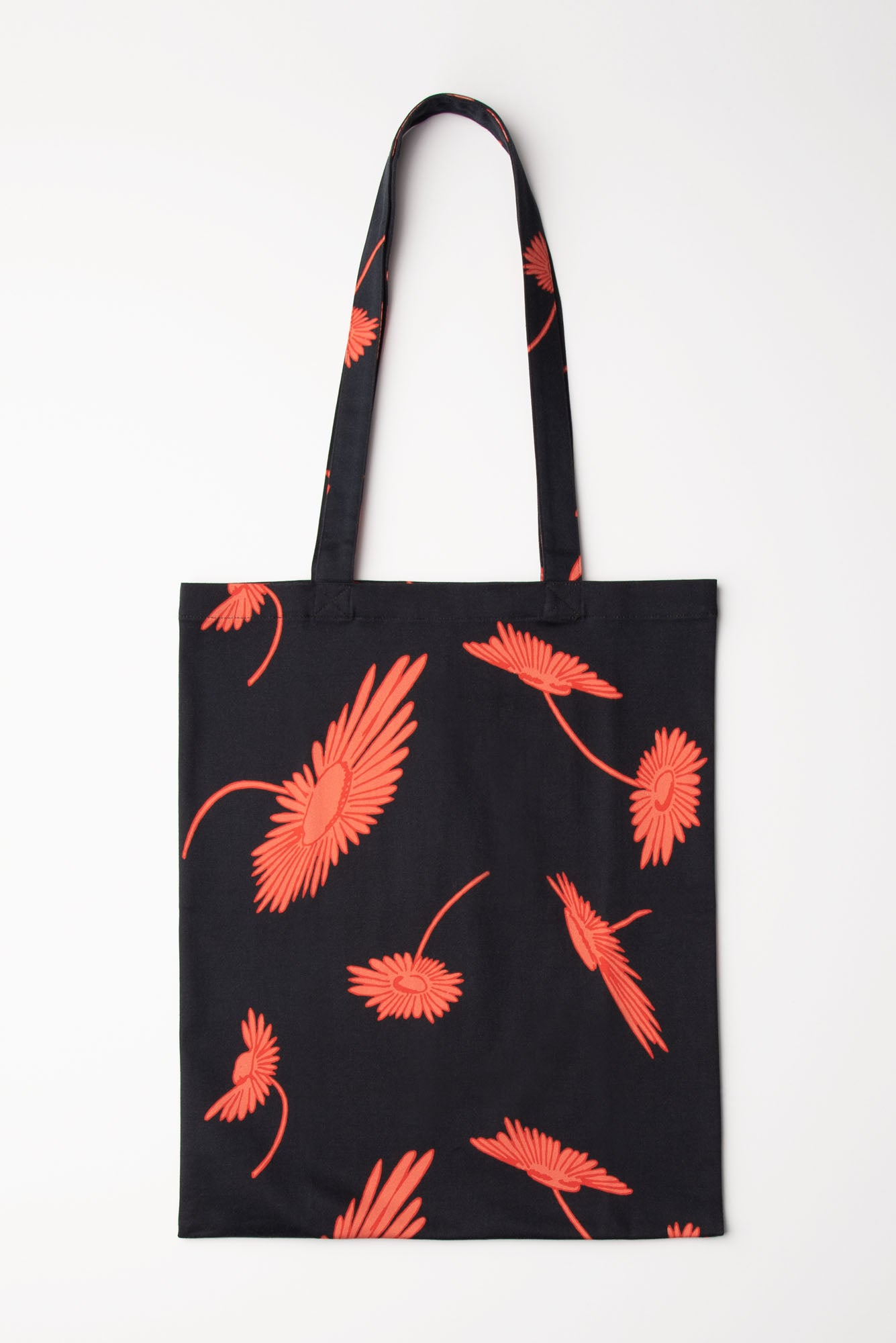 Tucker Tote | Coral and Cassis