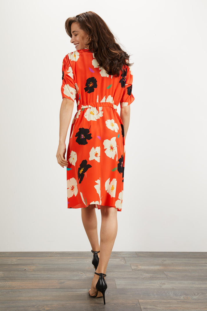 The Market Dress | Crimson Camellia