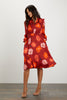 Stella Dress | Crimson Poppies