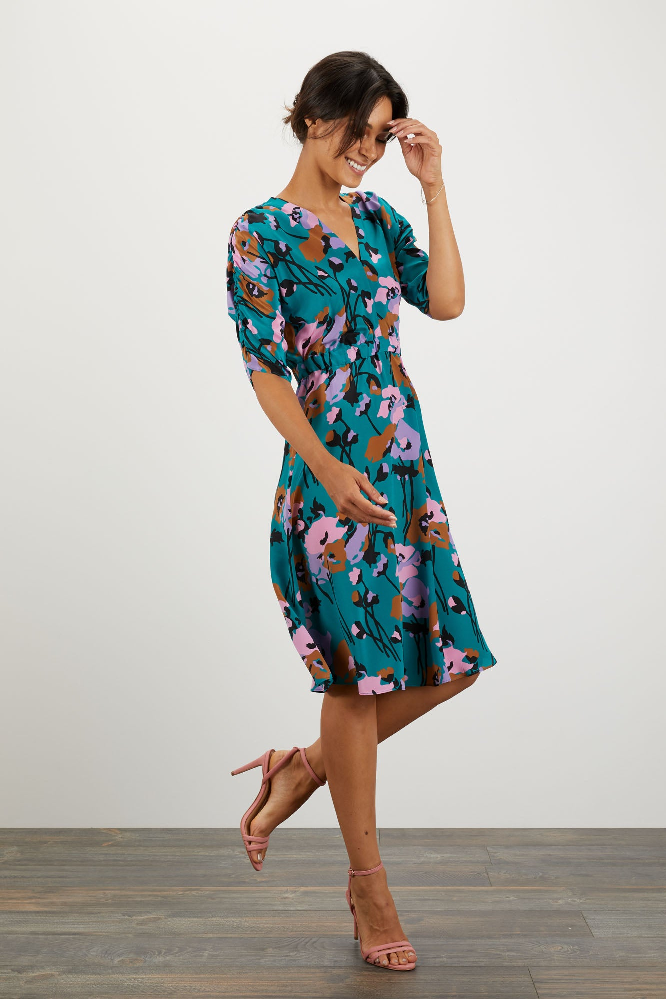 The Market Dress | Dini's Navy Floral