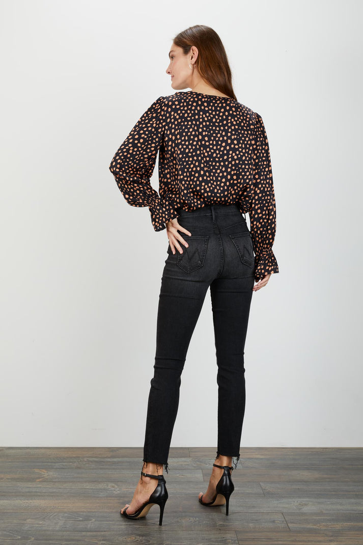 Juliette Blouse | Ebony Dot