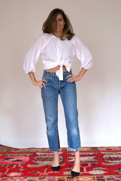 The Classic Blouse