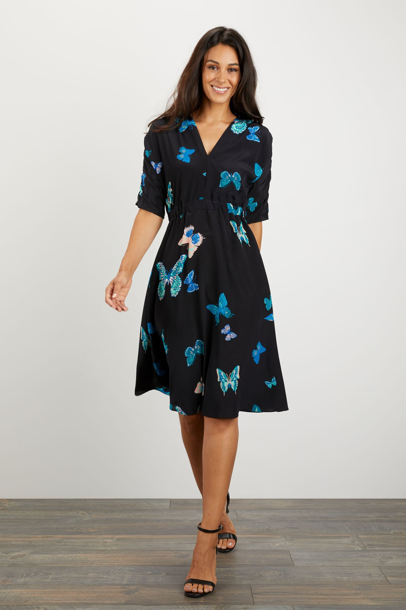 The Market Dress | Fluttering Butterflies